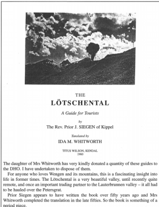 The Lotschenthal for sale