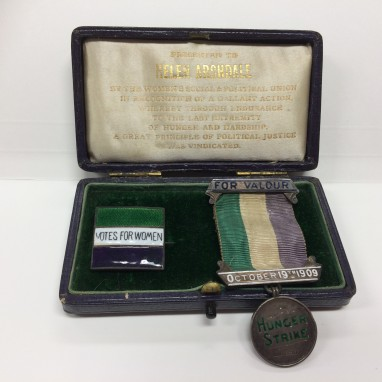 Helen Archdale's Suffragette Medals  Image with kind permission of Abbotsleigh Archives [x]