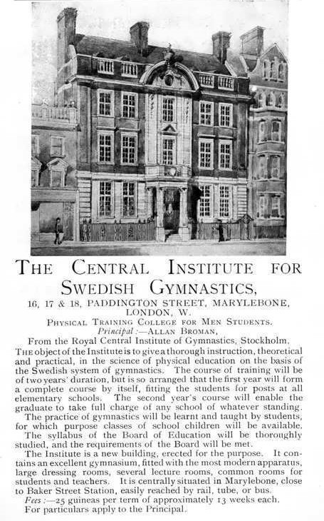 1912-Central-Institute-Swedish-Gymnastics-Allan-Broman-Paddington (2)
