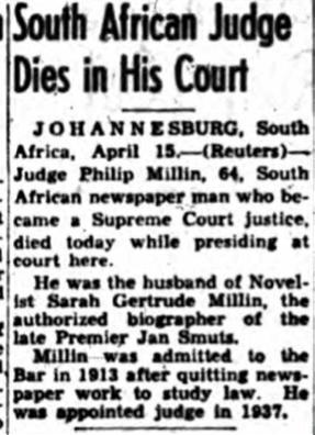 Judge-dies