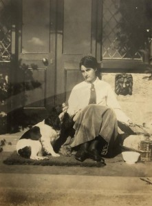 Alice and dog (3)
